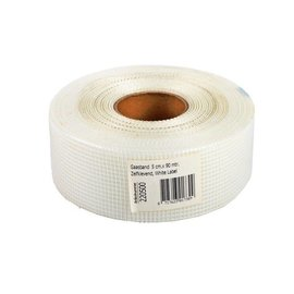 Fabric tape 50mm x 90m White Label White