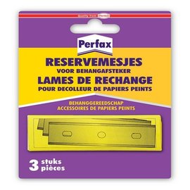 Perfax Ersatzmesser Tapetenentferner 3 Stück