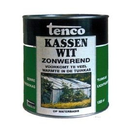 Tenco Greenhouses White Sunscreen paint 1 liter