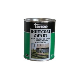 Tenco Wood Coat Black