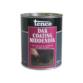Tenco Dakcoating Middendik Zwart 1 Liter