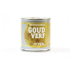 Mondial Professional Satin Gold Paint 100ml