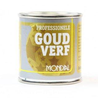 Mondial Professionelle Satin Gold Farbe 100ml