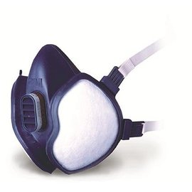 3M Halfgelaatsmasker Vaste Filters A1P2D