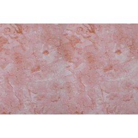 Kunststoff rosa Marmorplatte 45cm x 2m