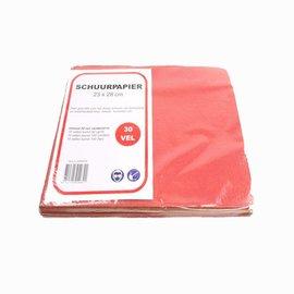 Veba Flint Sandpaper Sheets 100 Sheets P40 or P60