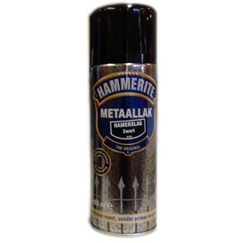Hammerite Hammered Black 400ml aerosol H160