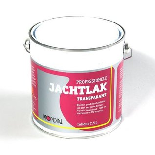 Mondial Jachtlak Transparant 250ml / 750ml / 2.5l