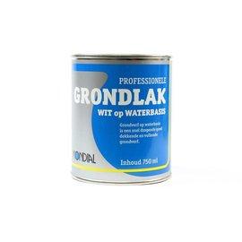 Mondial Grondlak Wit Waterbasis 750ml / 2.5l