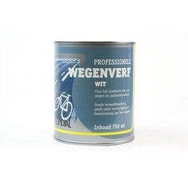Mondial Straßenmarkierungsfarbe Weiß 250 ml oder 750 ml