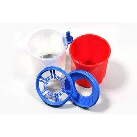 Huismerk Paint Bucket / Tassels storage pot