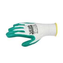 Huismerk Work gloves Extra Grip Green