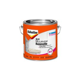 Alabastine Renovation Paint 2-in-1 White