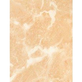 Marmorplatte aus Kunststoff Lachs 45cm x 2m