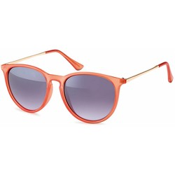 Oranje fashion zonnebril