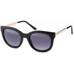 Zwarte fashion zonnebril