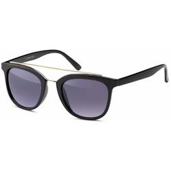 Zwarte vintage zonnebril