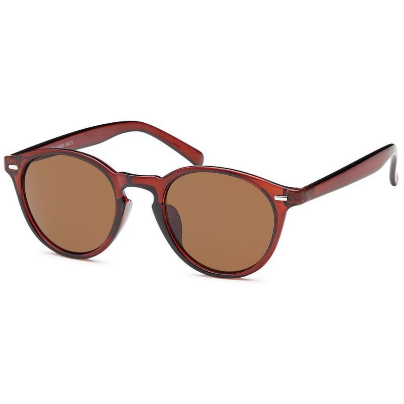 Klassieke bruine zonnebril