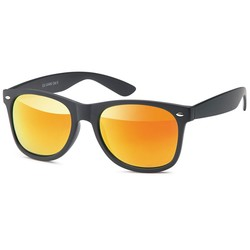 The Wayfarer Black Orange