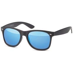 matzwarte wayfarer zonnebril