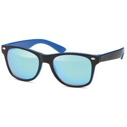 Blauwe kinder zonnebril