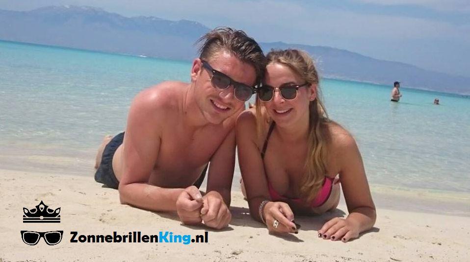 Trendy vakantie zonnebrillen
