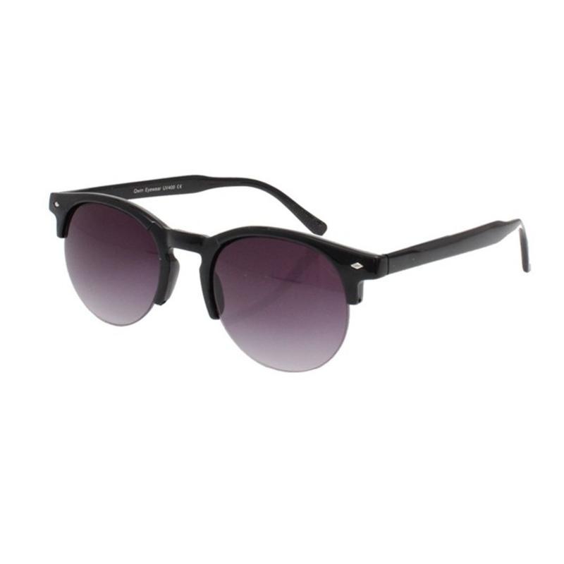 Elegante zwarte zonnebril