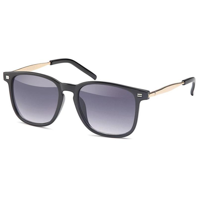 Glamour zonnebril zwart
