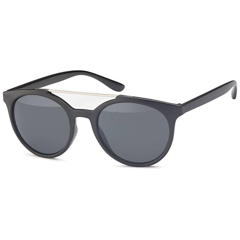 Bridge zonnebril zwart