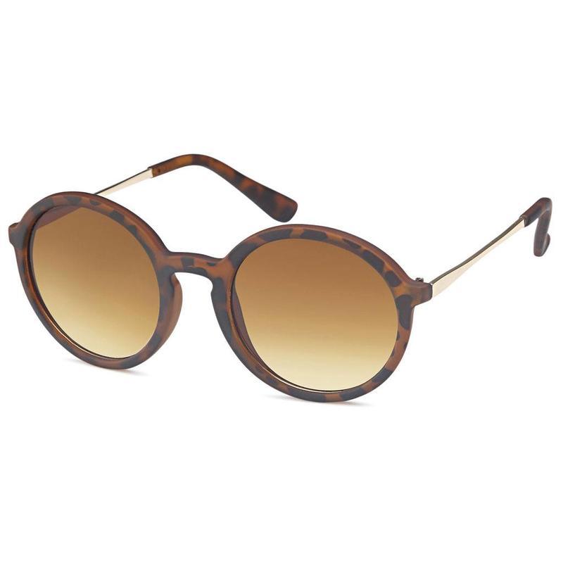 Ronde tijger zonnebril