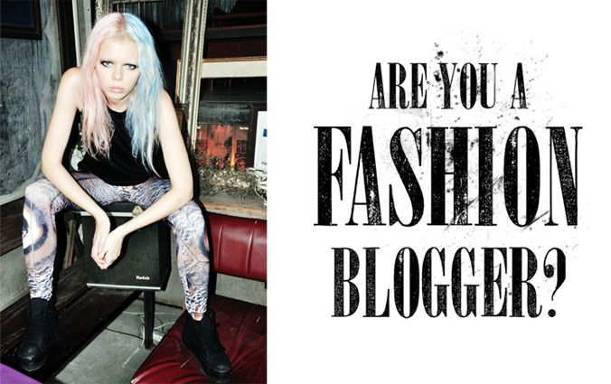 Ben jij een fashion blogger?