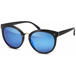 Trendy Blauwe Zonnebril
