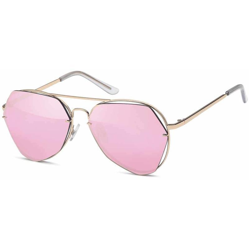 Fashion Roze Piloten Zonnebril