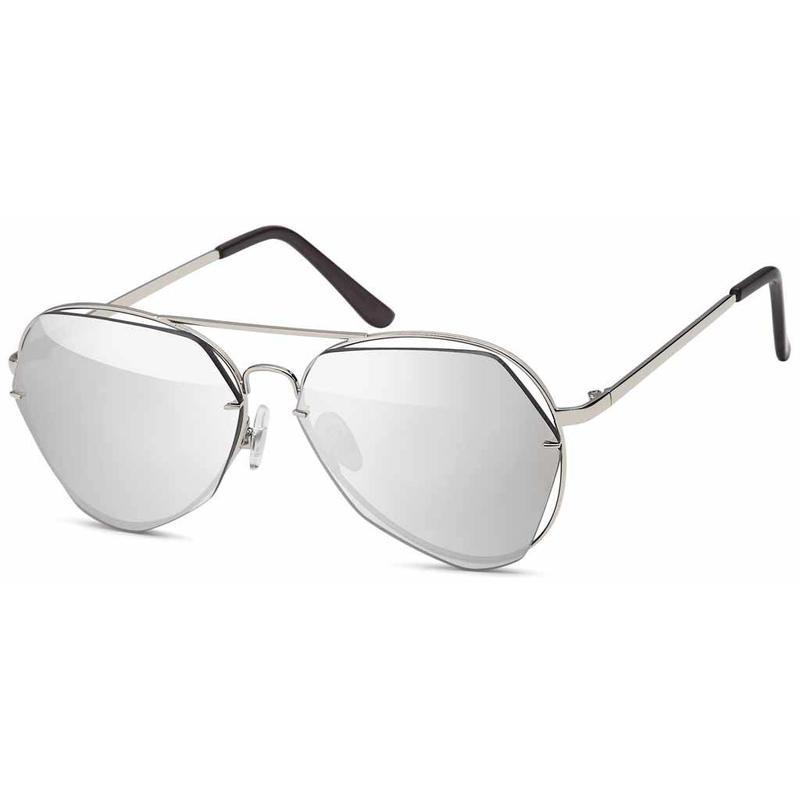 Fashion Zilveren Piloten Zonnebril