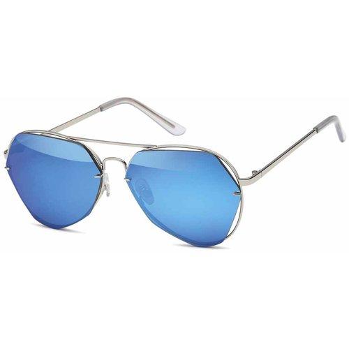 Fashion Blauwe Piloten Zonnebril