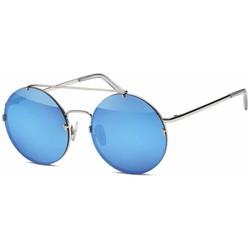 Ronde Design Zonnebril Blauw