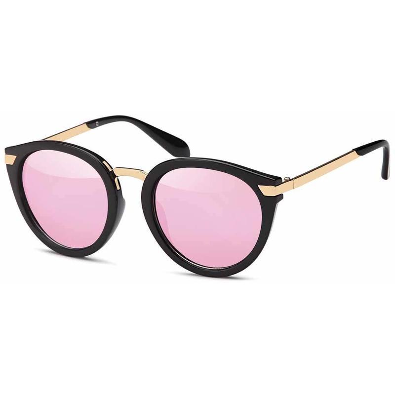 Sierlijke Roze Zonnebril