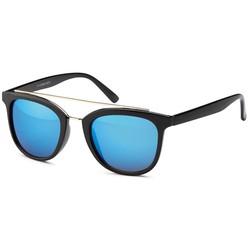 Blitse Zonnebril Zwart/Blauw