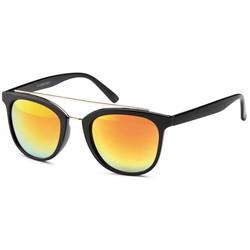 Blitse Zonnebril Zwart/Oranje