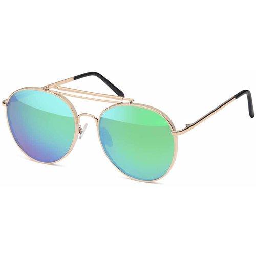 Moderne Piloten Zonnebril Groen