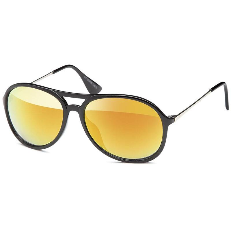 Zonnige Oranje Zonnebril