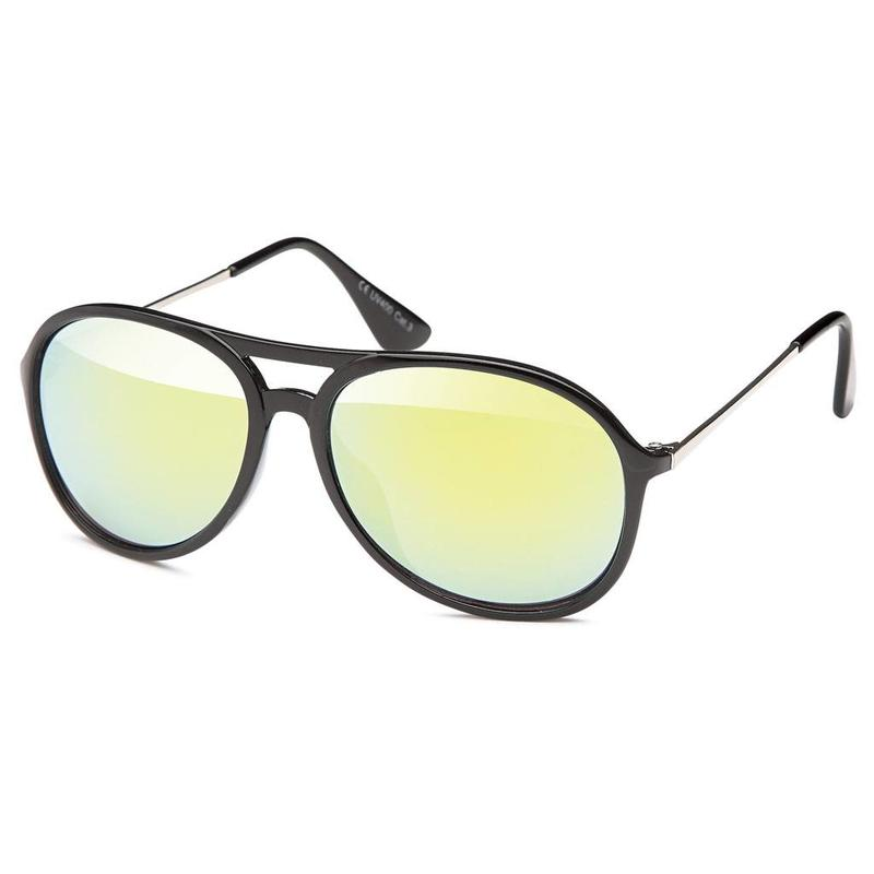 Zonnige Groene Zonnebril