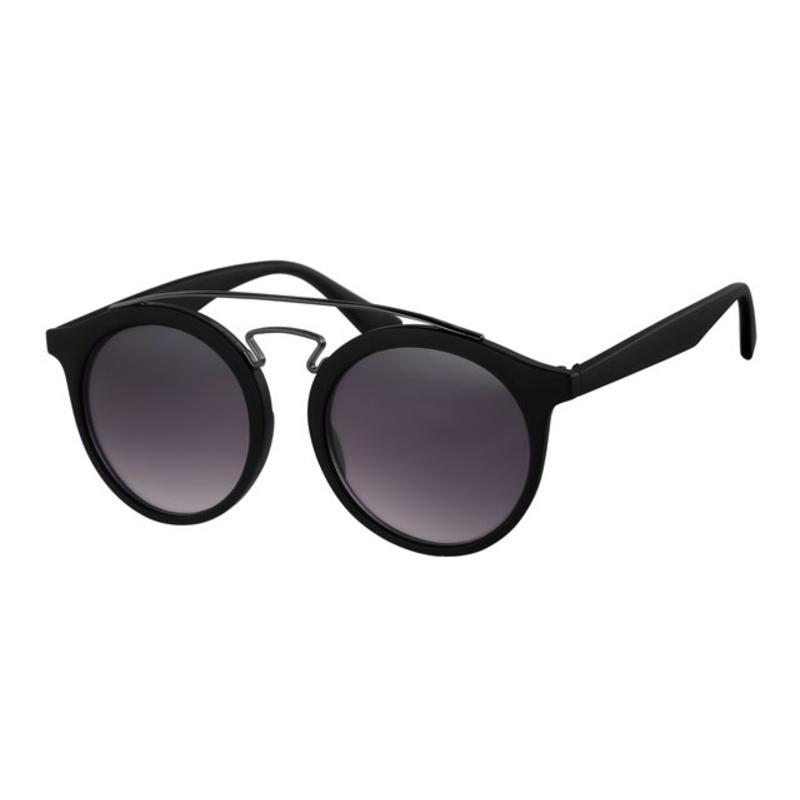 Zwarte festival zonnebril
