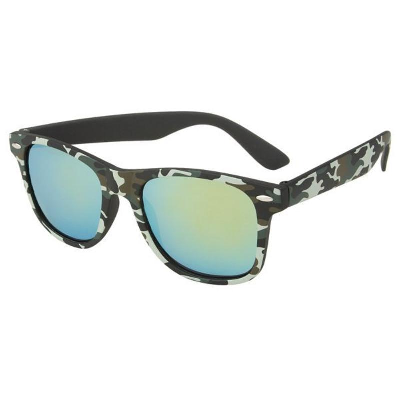 8587bbfbd9e138 Zonnebril Groene Spiegelglazen