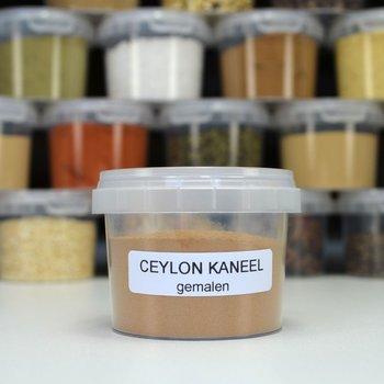 Ceylon kaneel gemalen