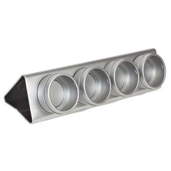 Display voor 4 magneetblikjes
