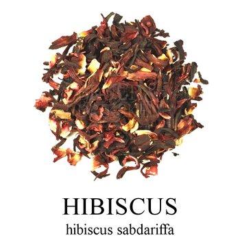 Bruur hibiscus thee (kruidenthee)