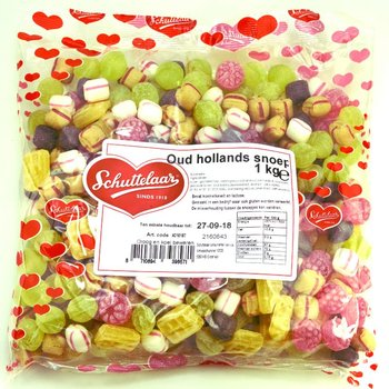 Oud-Hollandse snoep mix Schuttelaar