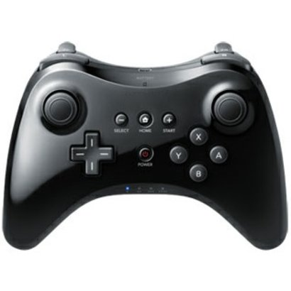 Geeek Wireless Controller Wii U Pro Black