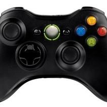 Wireless Controller für Xbox 360 Schwarz